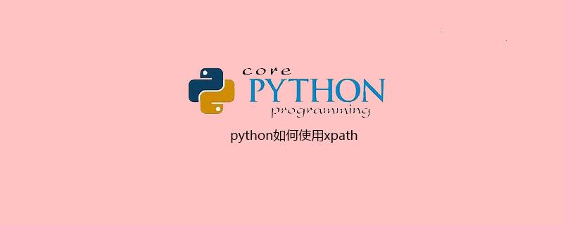 python如何使用xpath