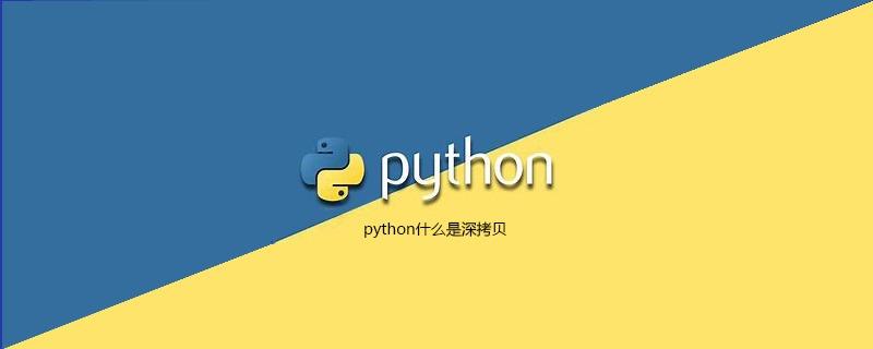 python什么是深拷贝