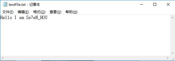 Python处理文件的基本操作