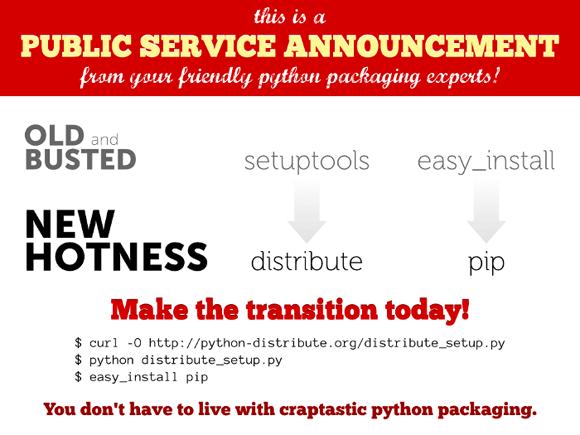 python distribute是什么