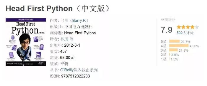 想学python看哪些书