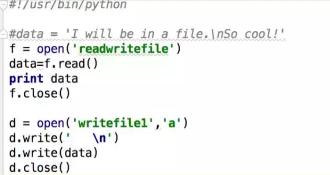 python写文件及数据处理的简单操作