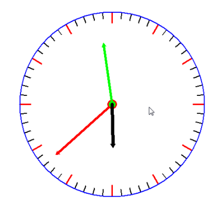 Python中的Tkinter如何制作钟表