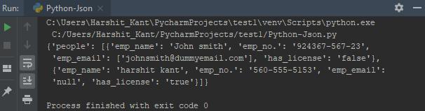 JSON字符串如何转换成Python?