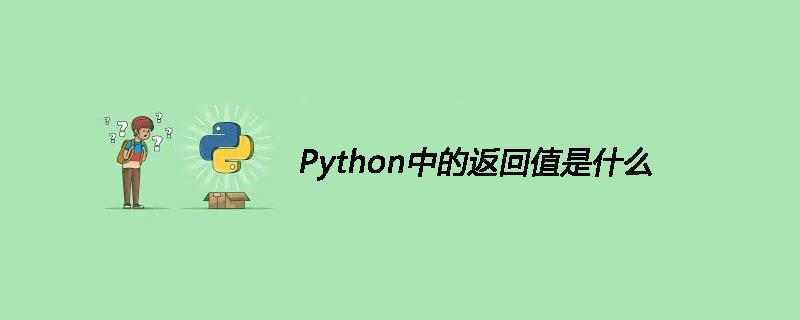 Python中的返回值是什么