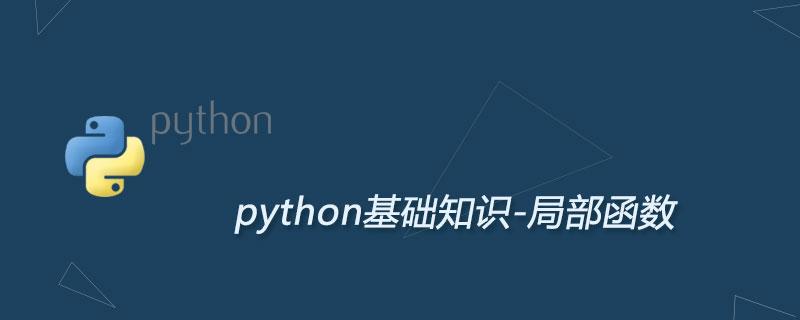 Python局部函数及用法