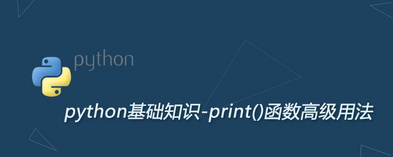 Python print()函数高级用法