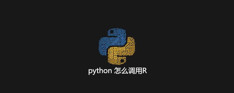 python 怎么调用R