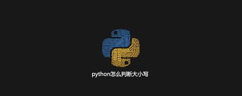 python怎么判断大小写