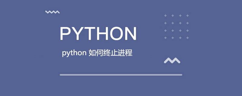 python 如何终止进程