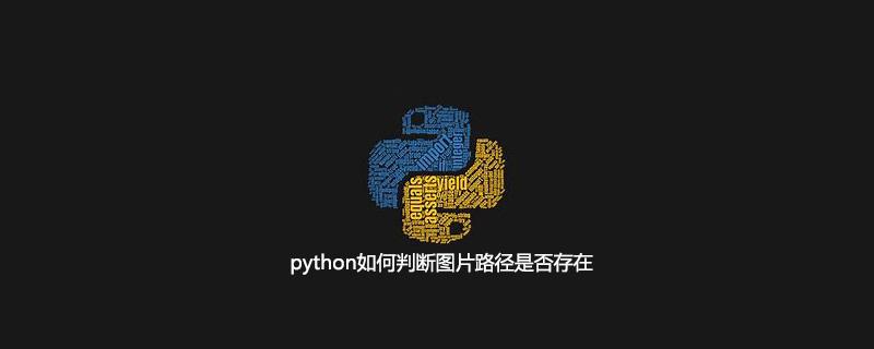 python如何判断图片路径是否存在